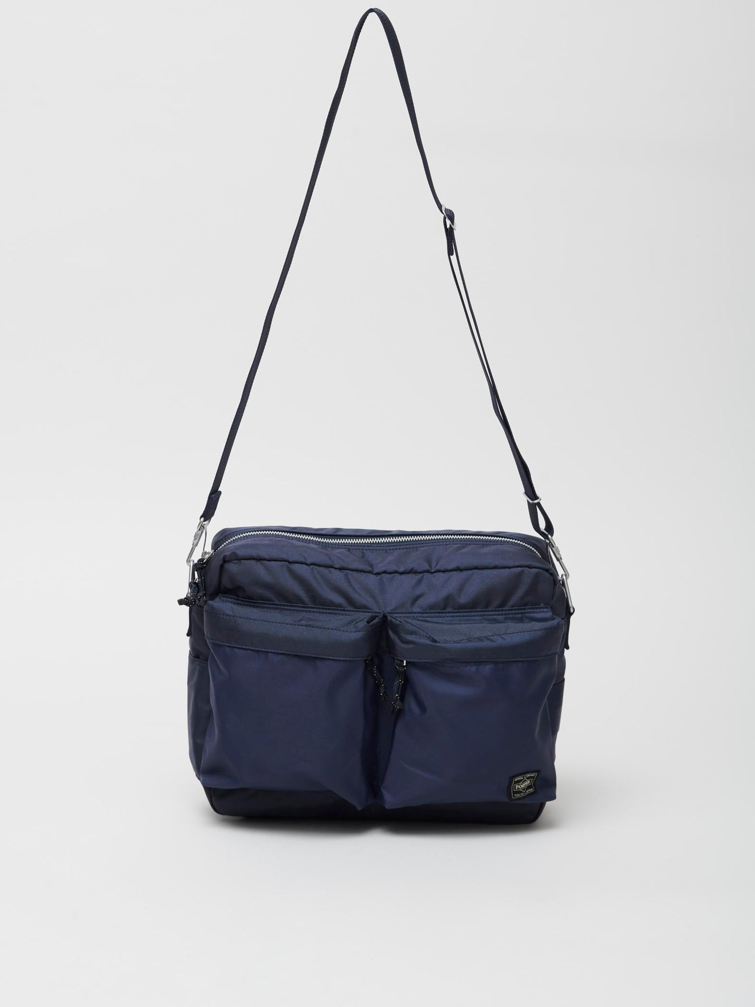 Force Shoulder Bag, Navy Blue