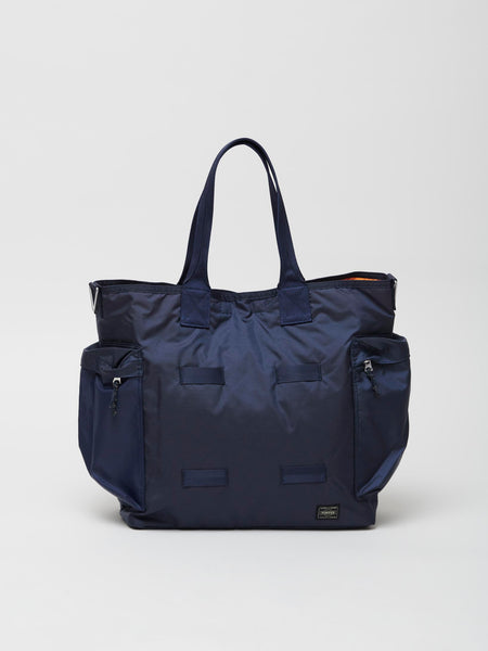 Force 2Way Tote Bag, Navy Blue