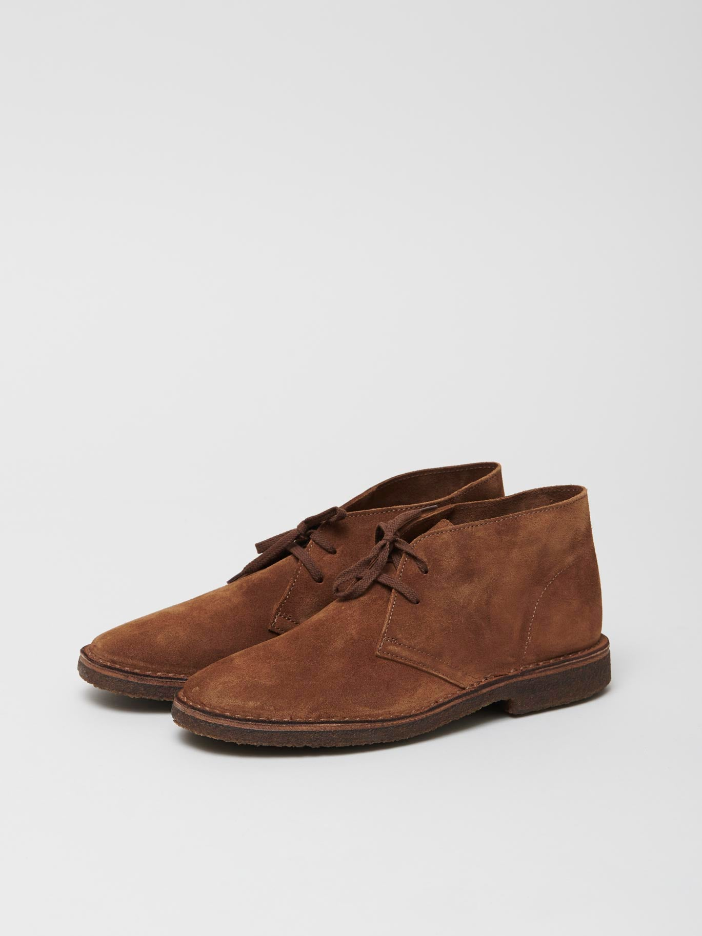 Clifford Desert Boot, Light Brown Suede