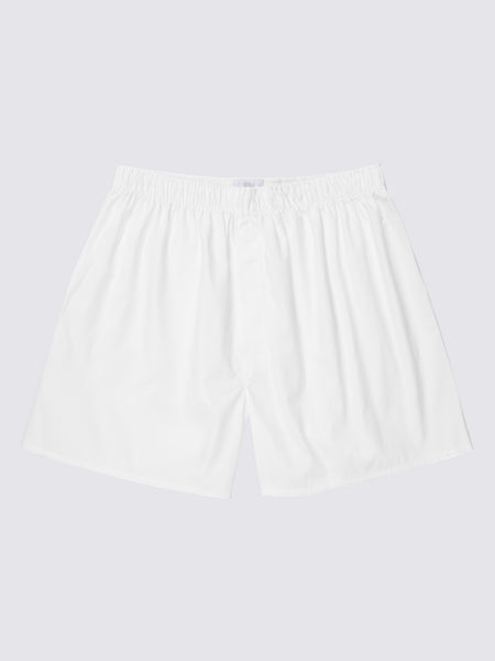 Boxer Short, White