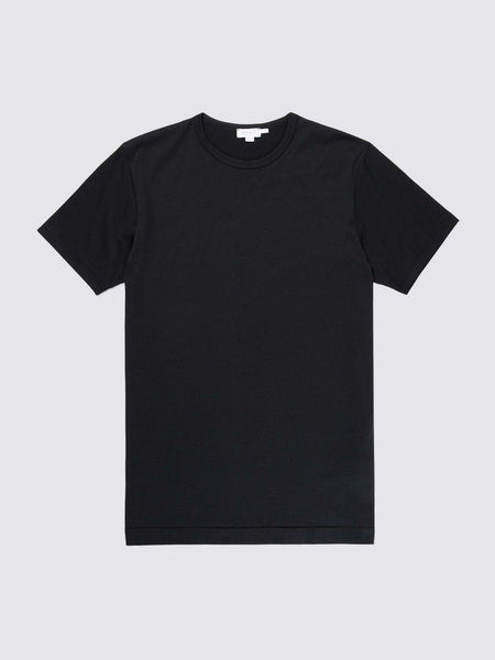 Men's Stretch Cotton Underwear T-Shirt, Black