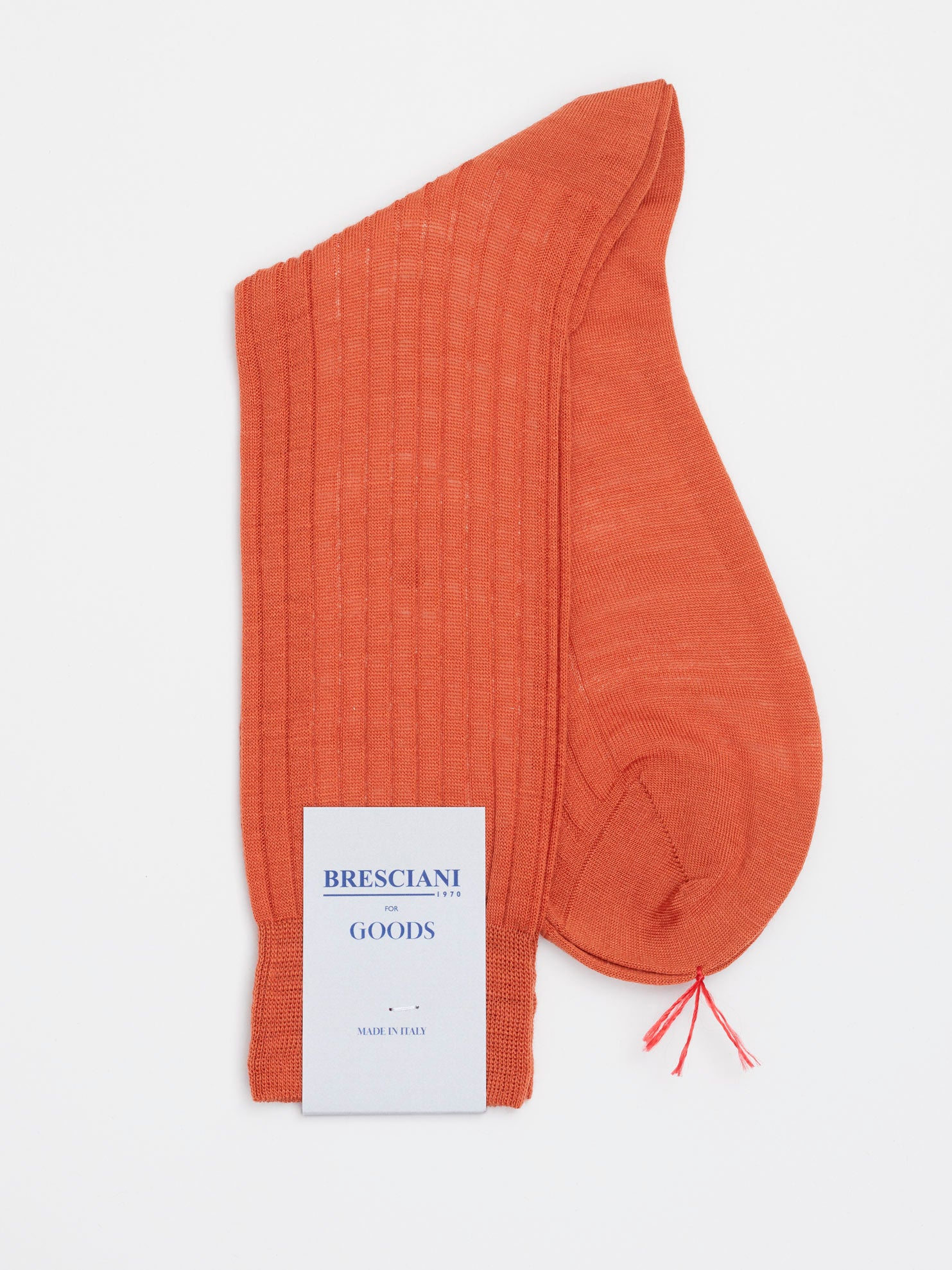 Fine Wool Socks Short, Warm Orange