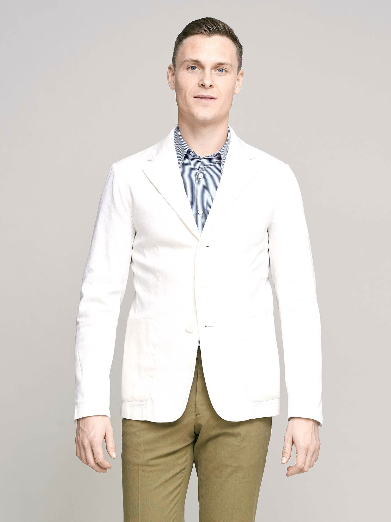 Piero Rubio Jacket, White