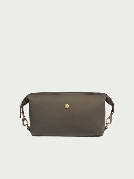 M/S Washbag, Army/Dark Brown - Goods