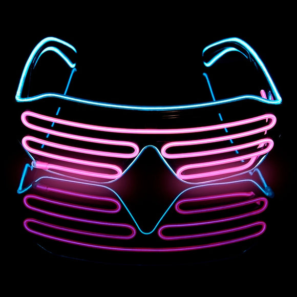 Lunettes LED - Novelty Glasses -