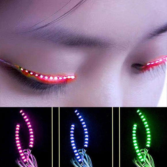 Faux-cils LED