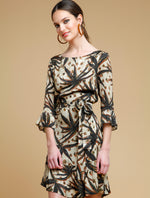 Short Palm dress - Almatrichi
