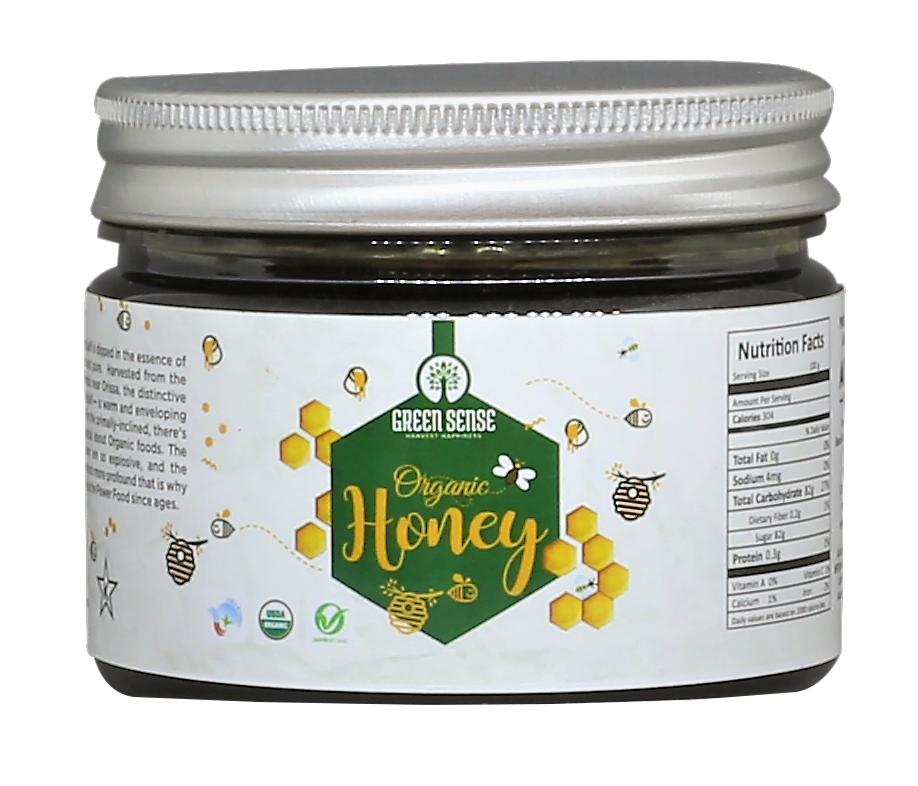 Organic Wild Forest Honey - 250 gm