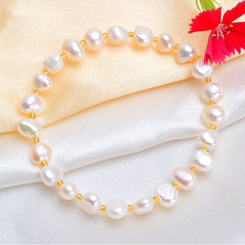 Margery Baroque Pearl Bracelet