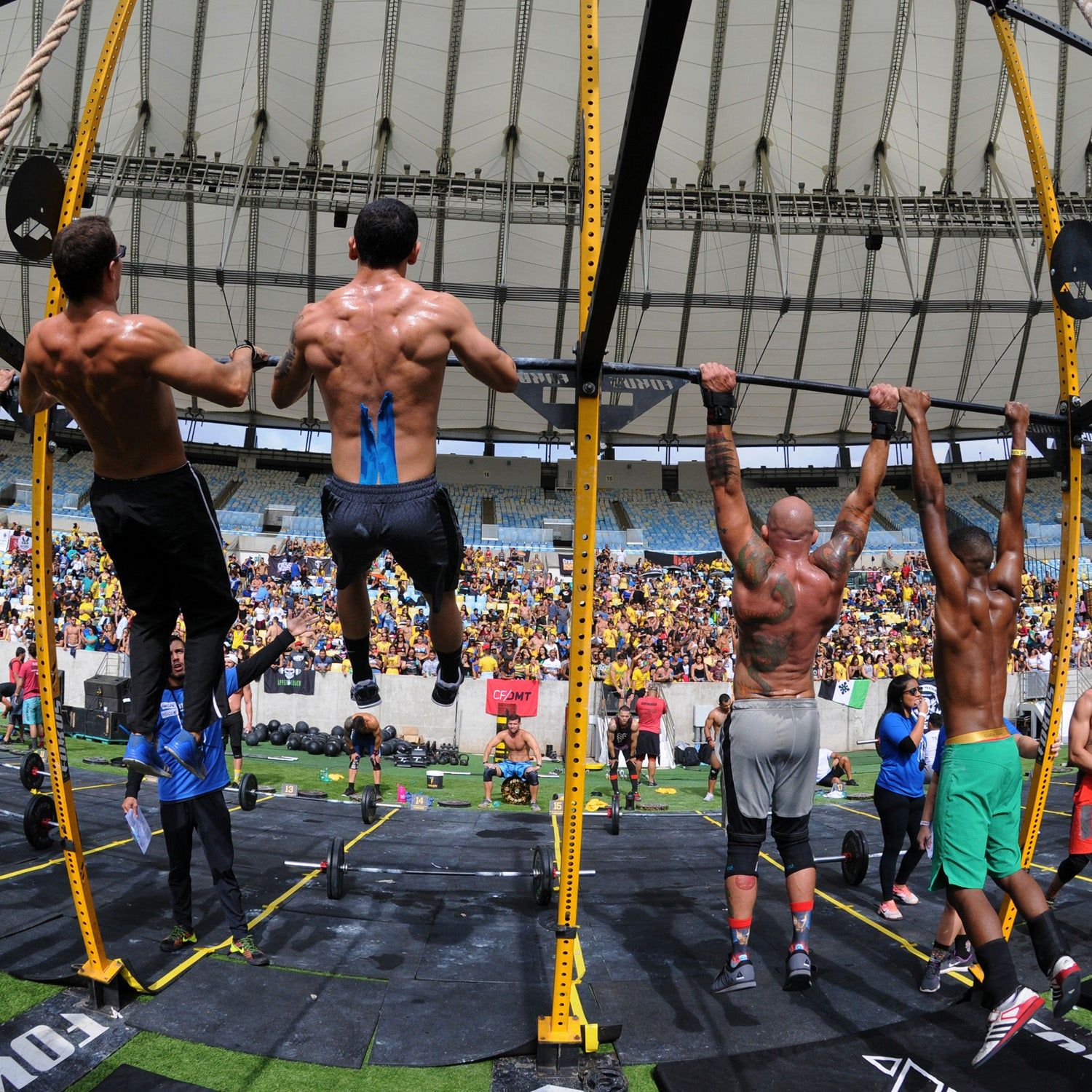 CrossFit Games Reduced To Field Of 30