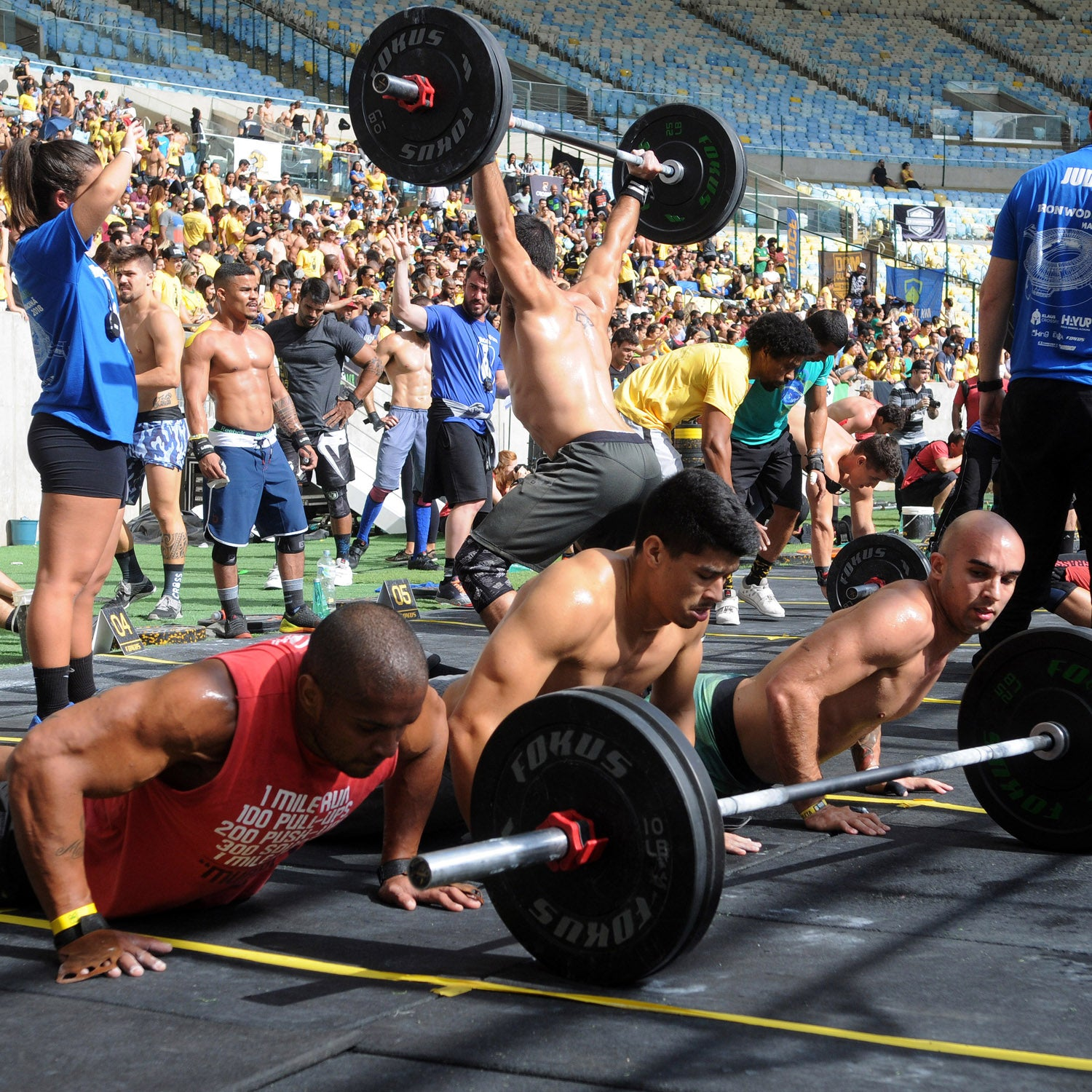 CrossFit Games: Athletes Test Events At CrossFit Ranch