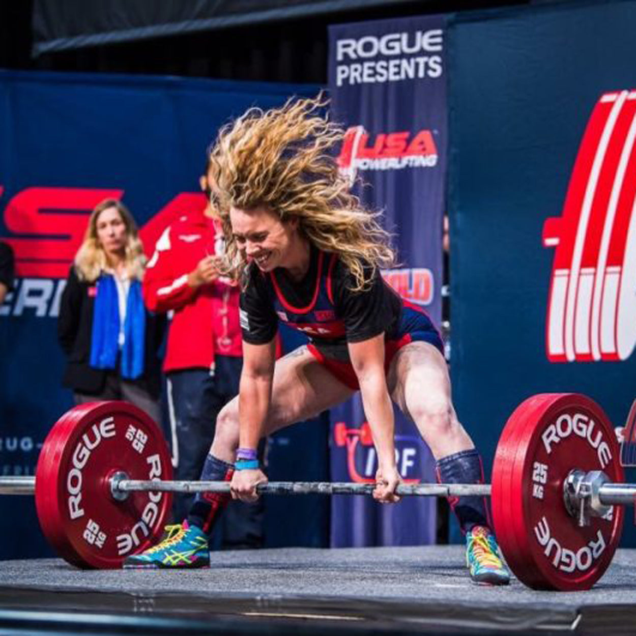 Powerlifter Heather Connor Lifts 200kg At 45kg Body Weight