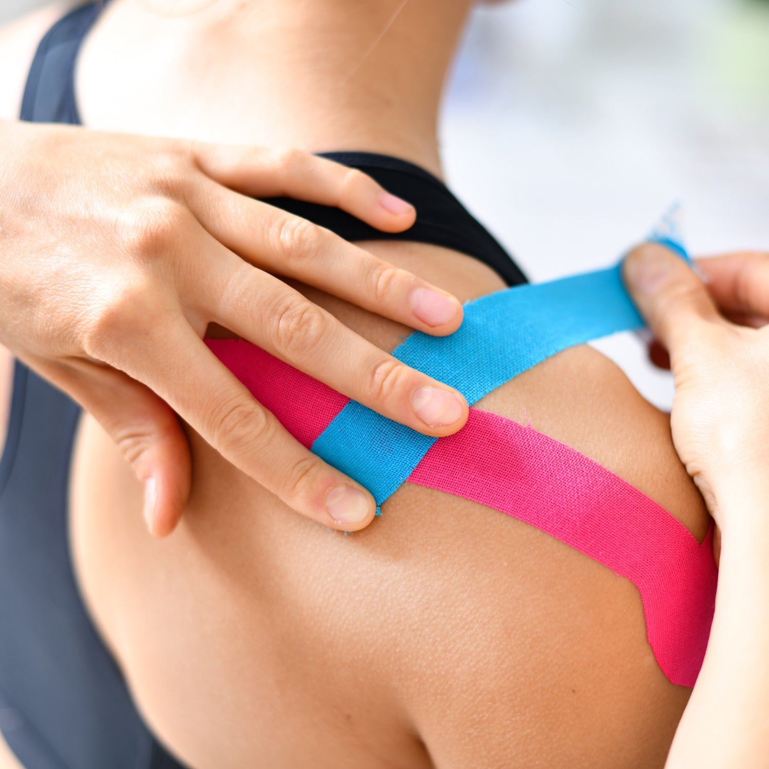How Does Kinesiology Tape Work & What Is It?