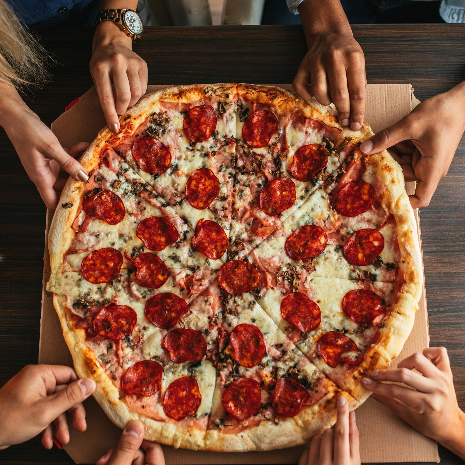 Pizza Study Shows Metabolism Is Minimally Affected By Occasional Calorie Binge