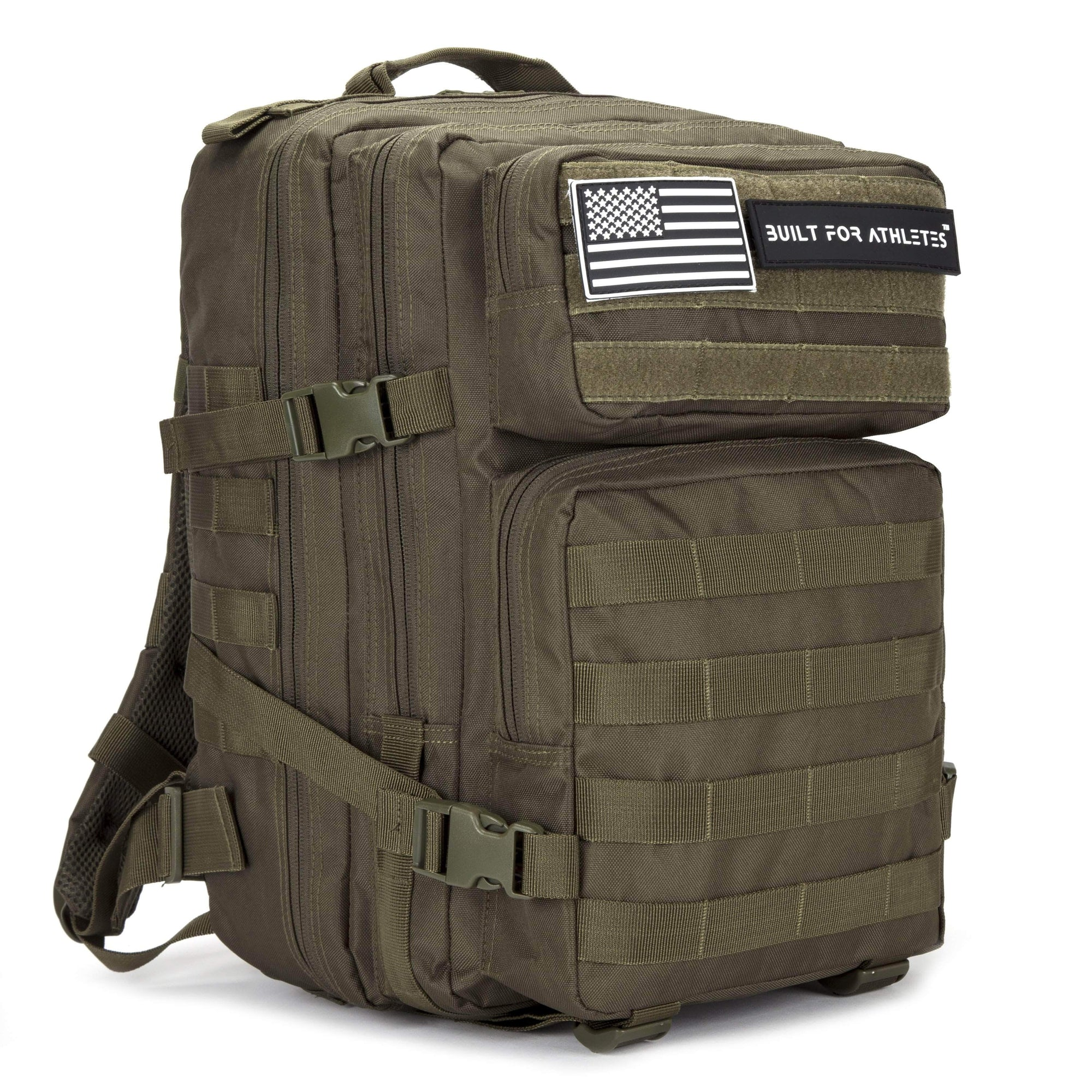Built for Athletes Backpacks 25L Army Green Hero Backpack
