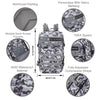 Built for Athletes Backpacks Black & White Camo Hero Backpack