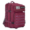 Built for Athletes Backpacks Burgundy Hero Backpack