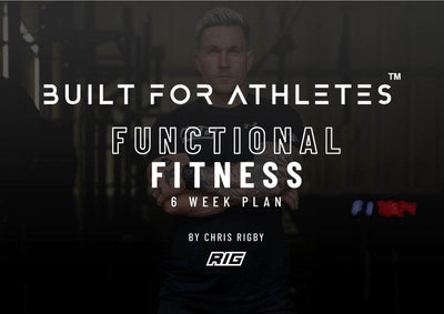 Built for Athletes Ebook BFA Functional Fitness - 6 Week Plan