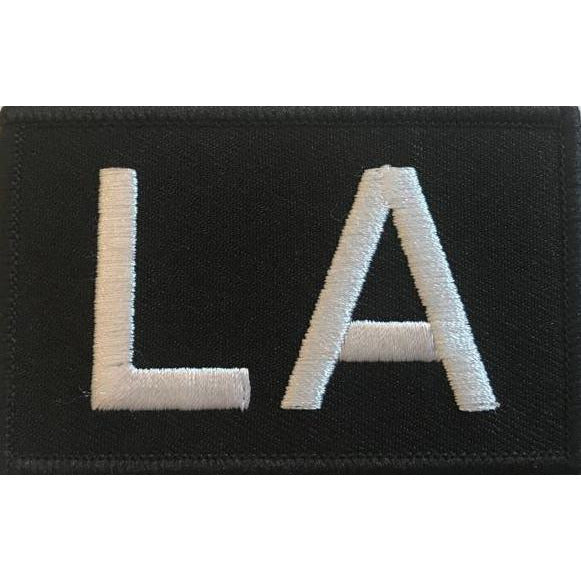 Built for Athletes Patches LA Patch
