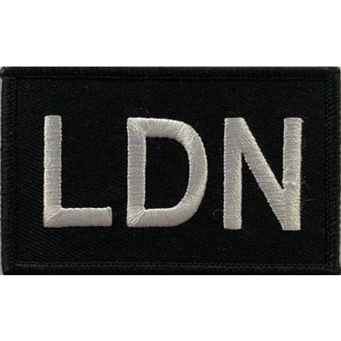 Built for Athletes Patches London Patch