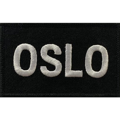 Built for Athletes Patches Oslo Patch