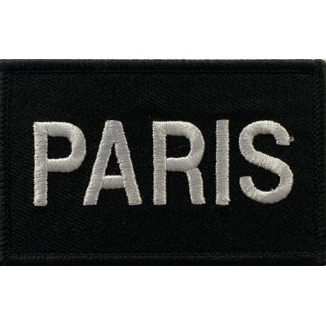 Built for Athletes Patches Paris Patch