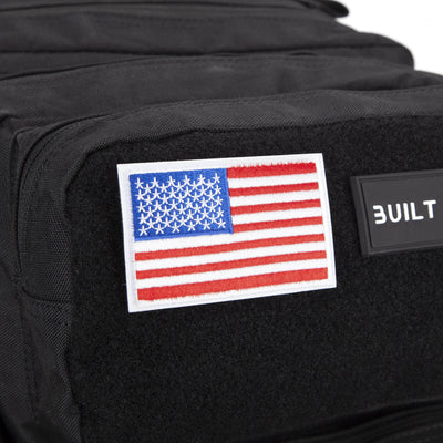 Built for Athletes Patches US Flag