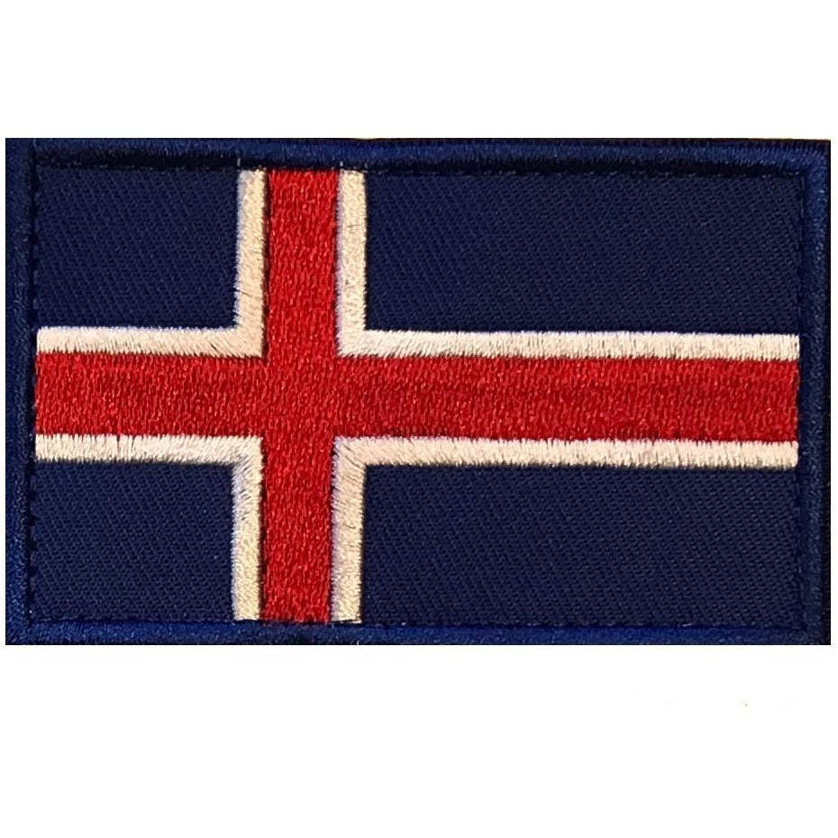 MetCon Store Patches Icelandic Flag