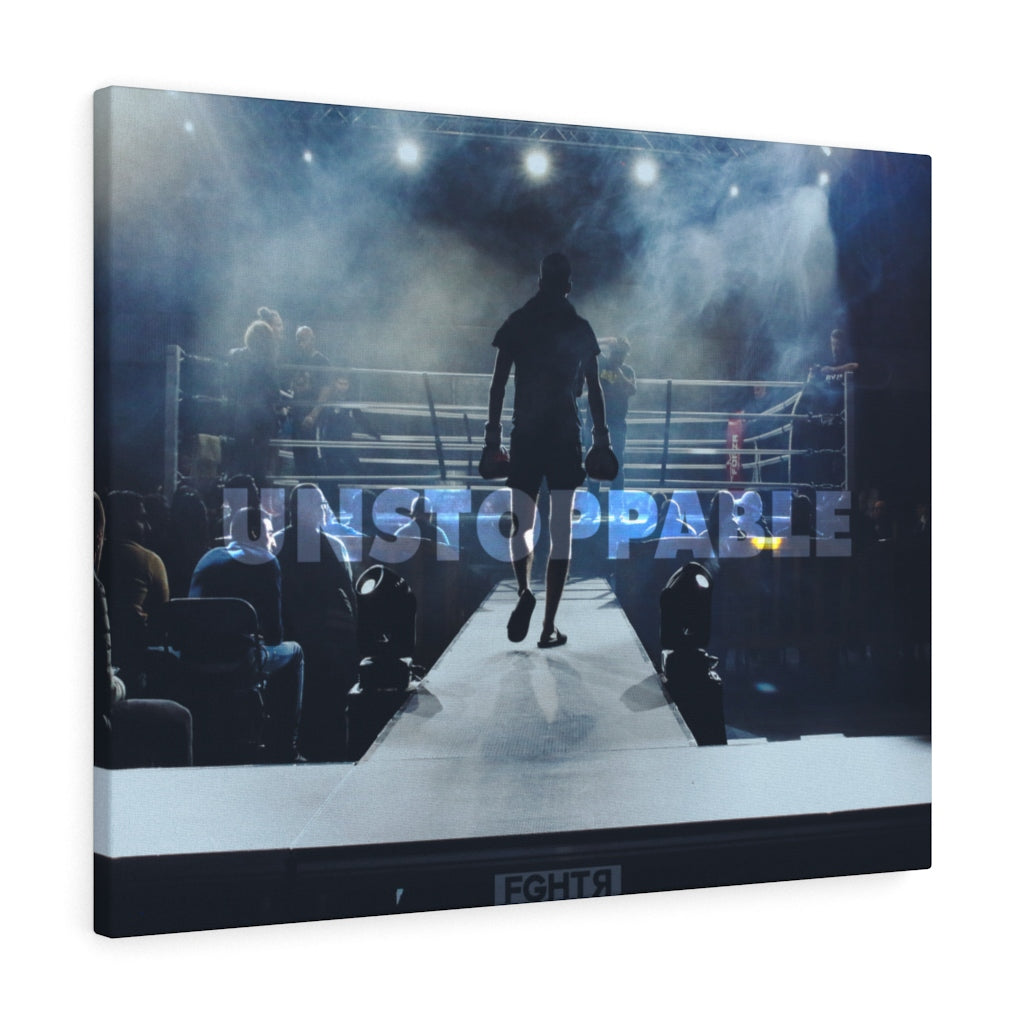 Unstoppable Boxing Canvas