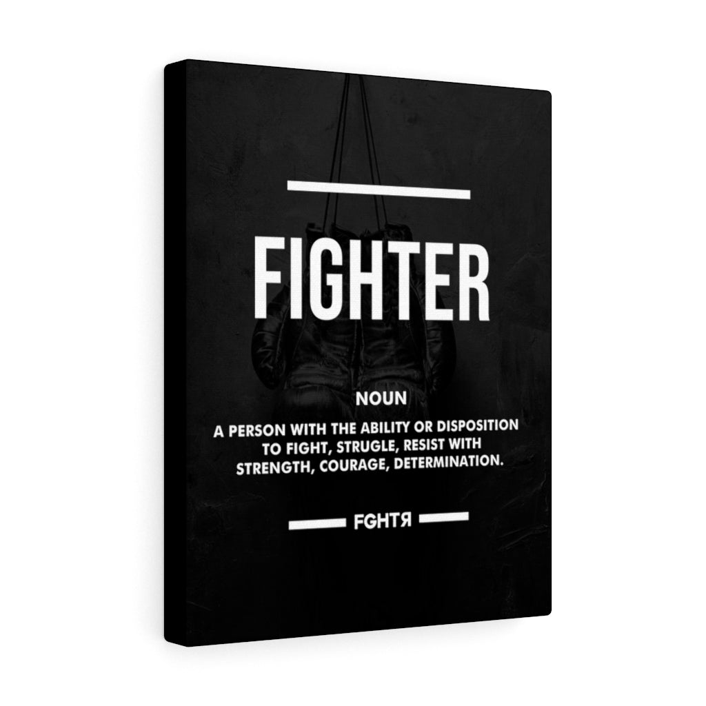 Fighter Canvas