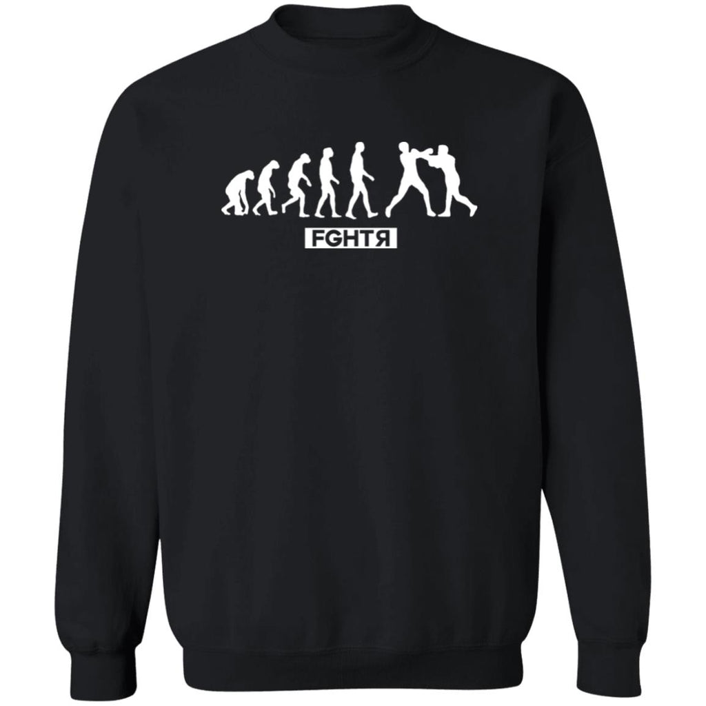 Boxing Evolution Sweater - Black