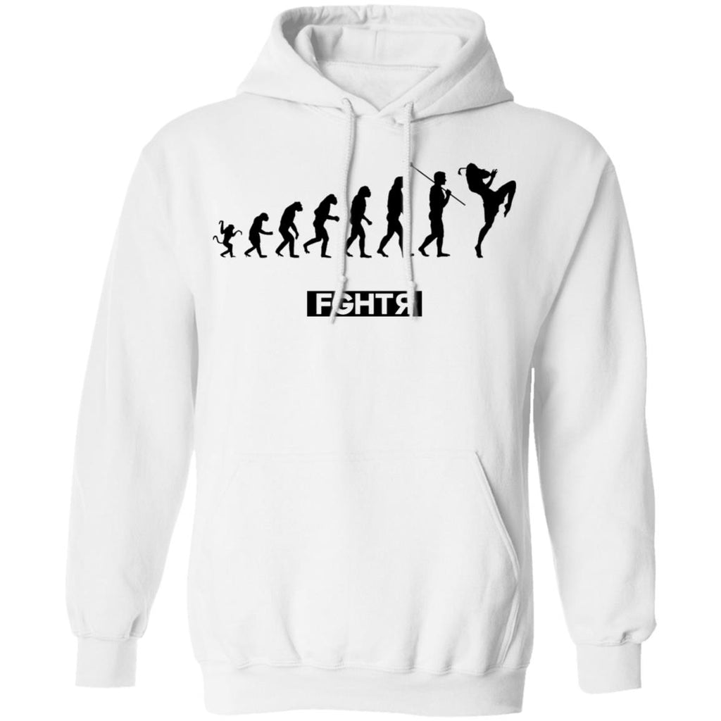 Muay Thai Evolution Hoodie - White