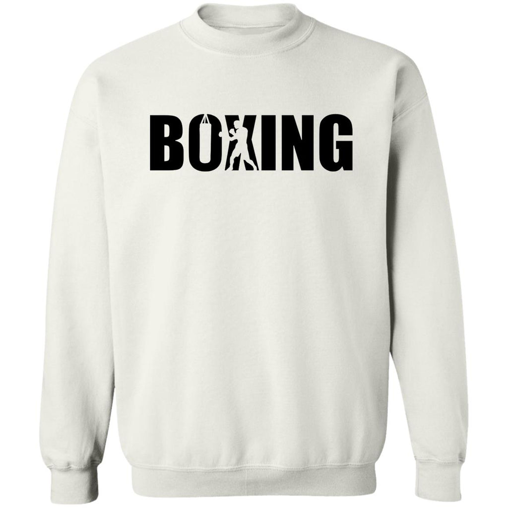 Boxing Shape Sweater - White