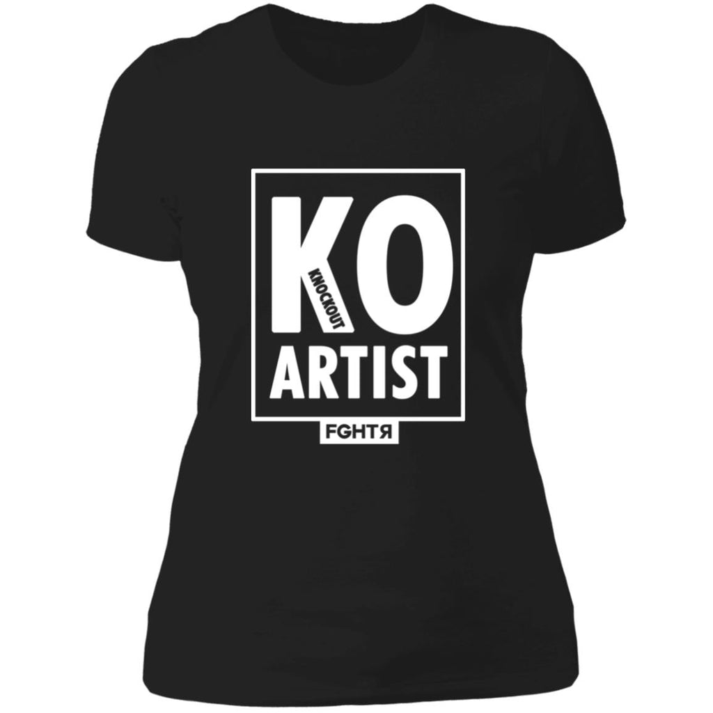 KO Knockout Artist Women T-Shirt - Black