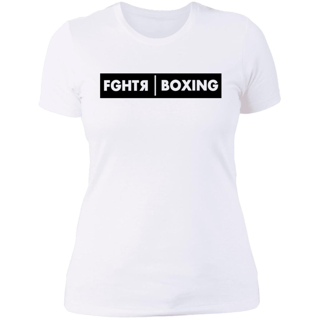 FGHTR Boxing Women T-Shirt - White