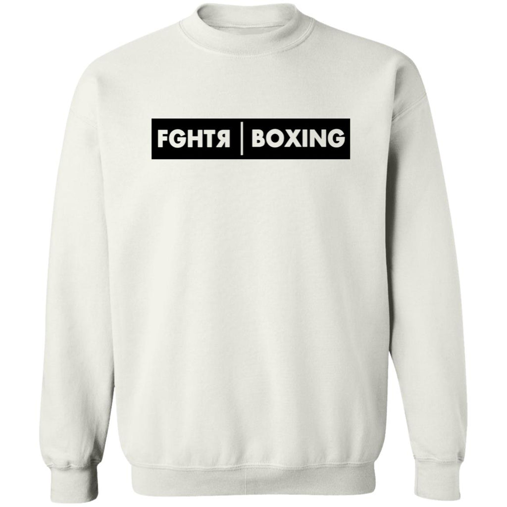 FGHTR Boxing Sweater - White