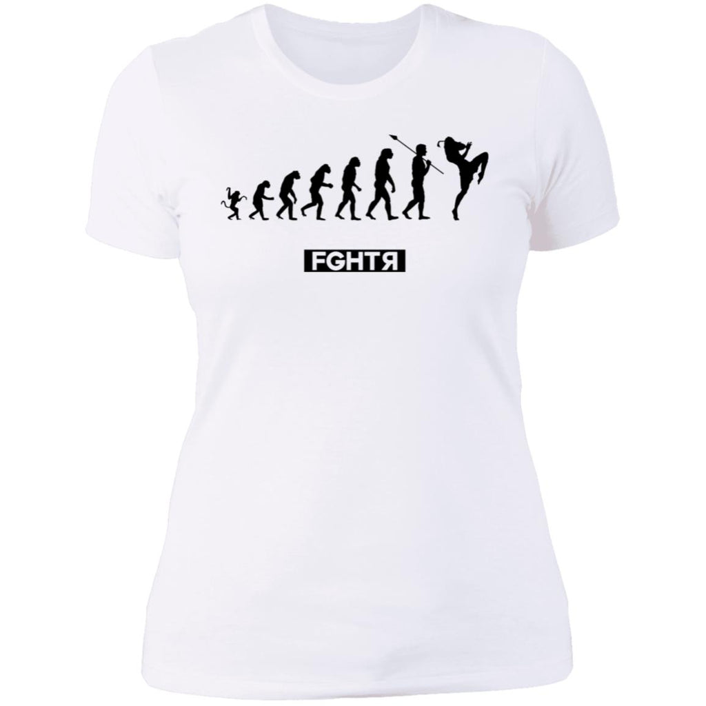 Muay Thai Evolution Women T-Shirt - White
