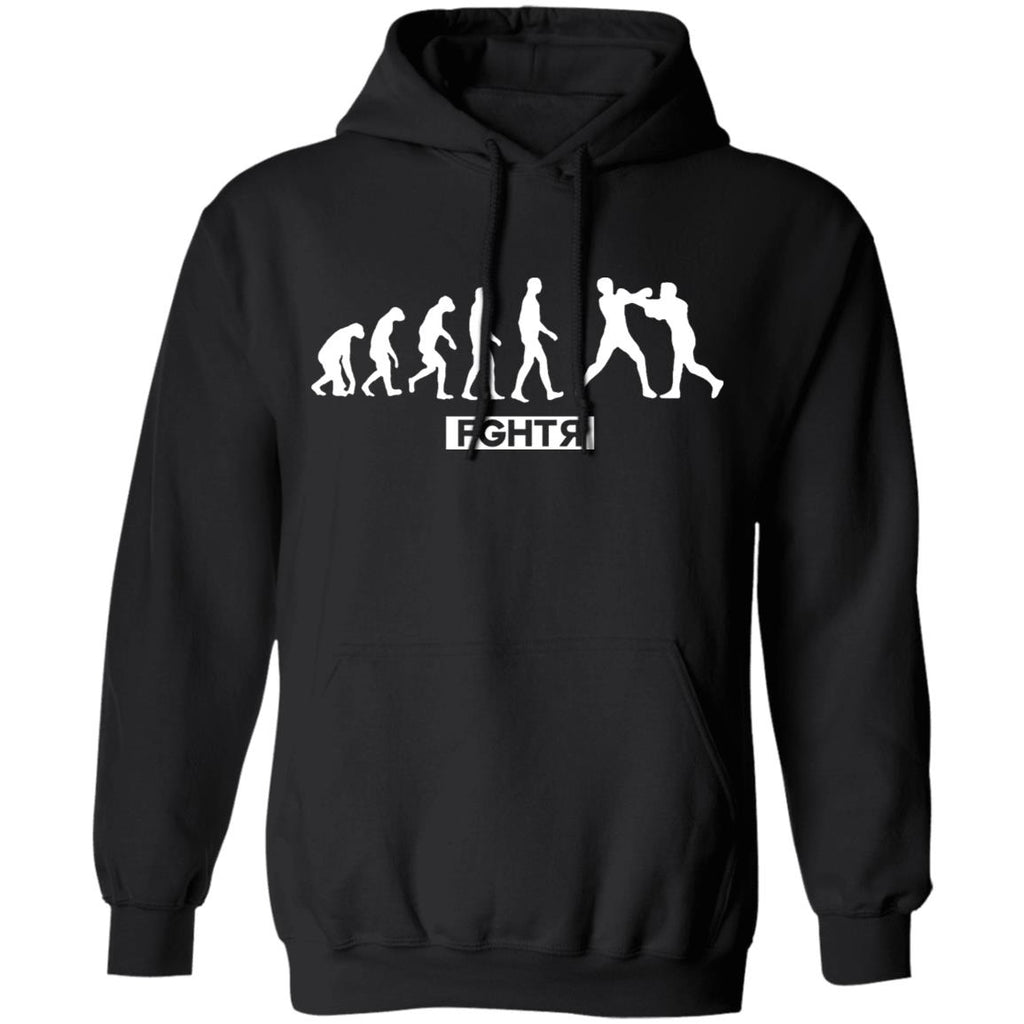 Boxing Evolution Hoodie - Black