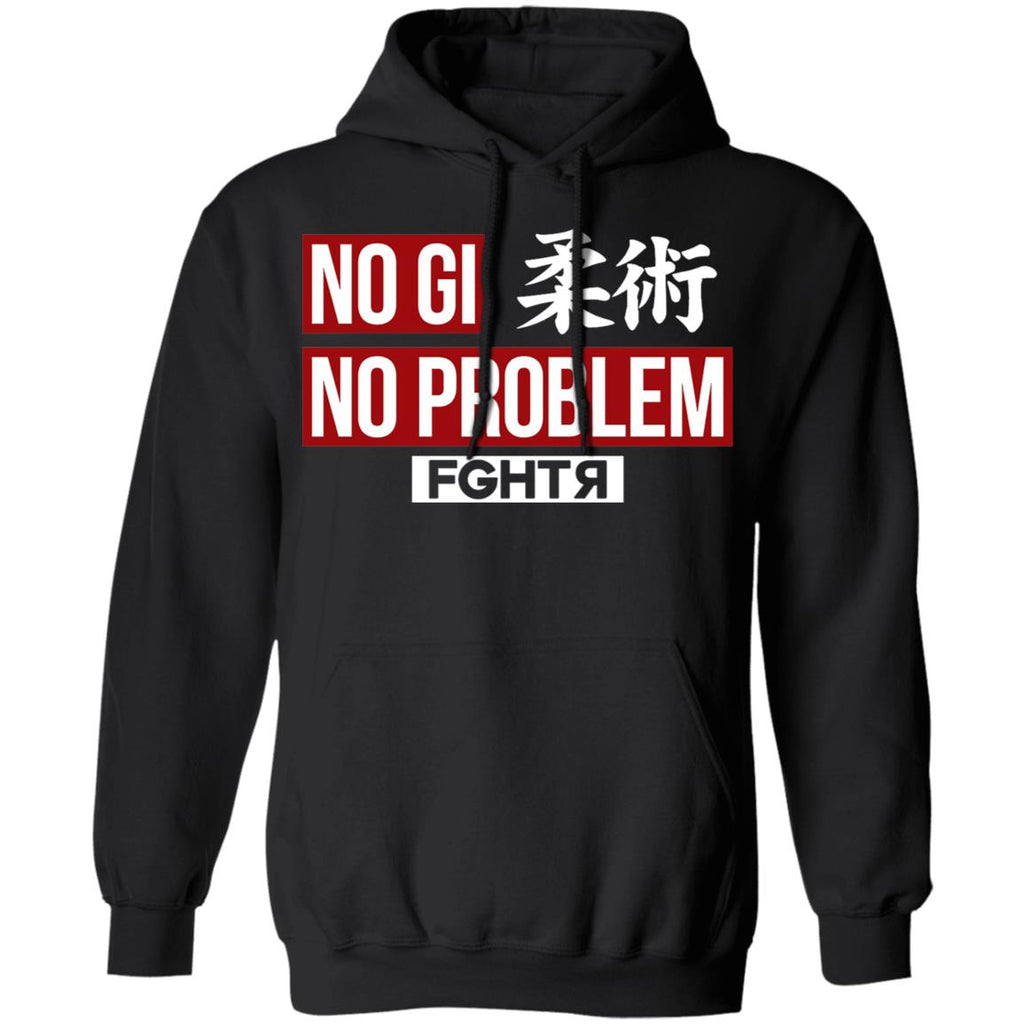 No Gi No Problem Hoodie - Black