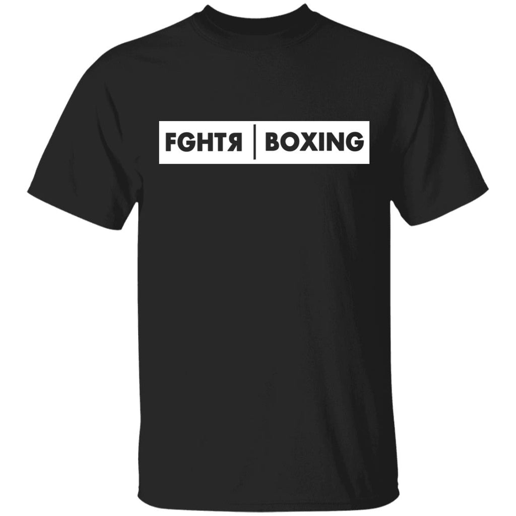 FGHTR Boxing T-Shirt - Black
