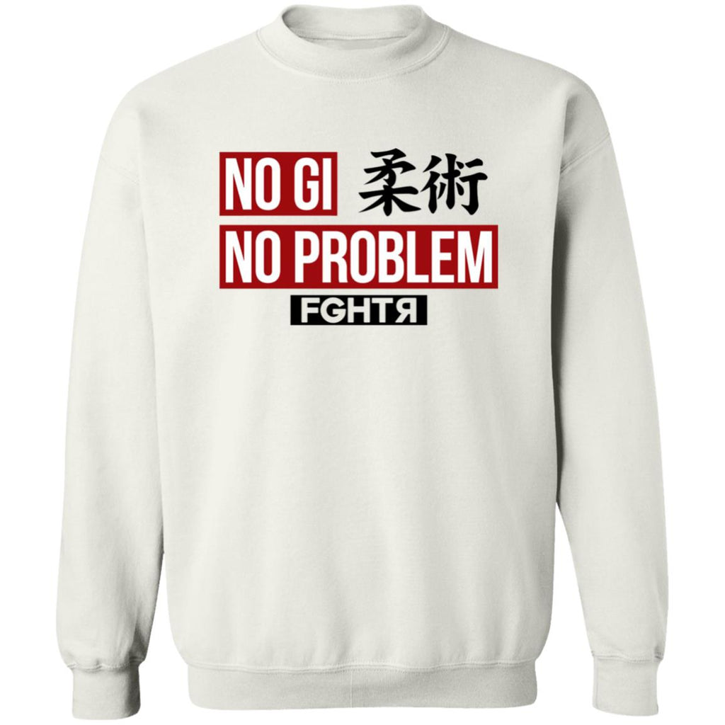 No Gi No Problem Sweater - White