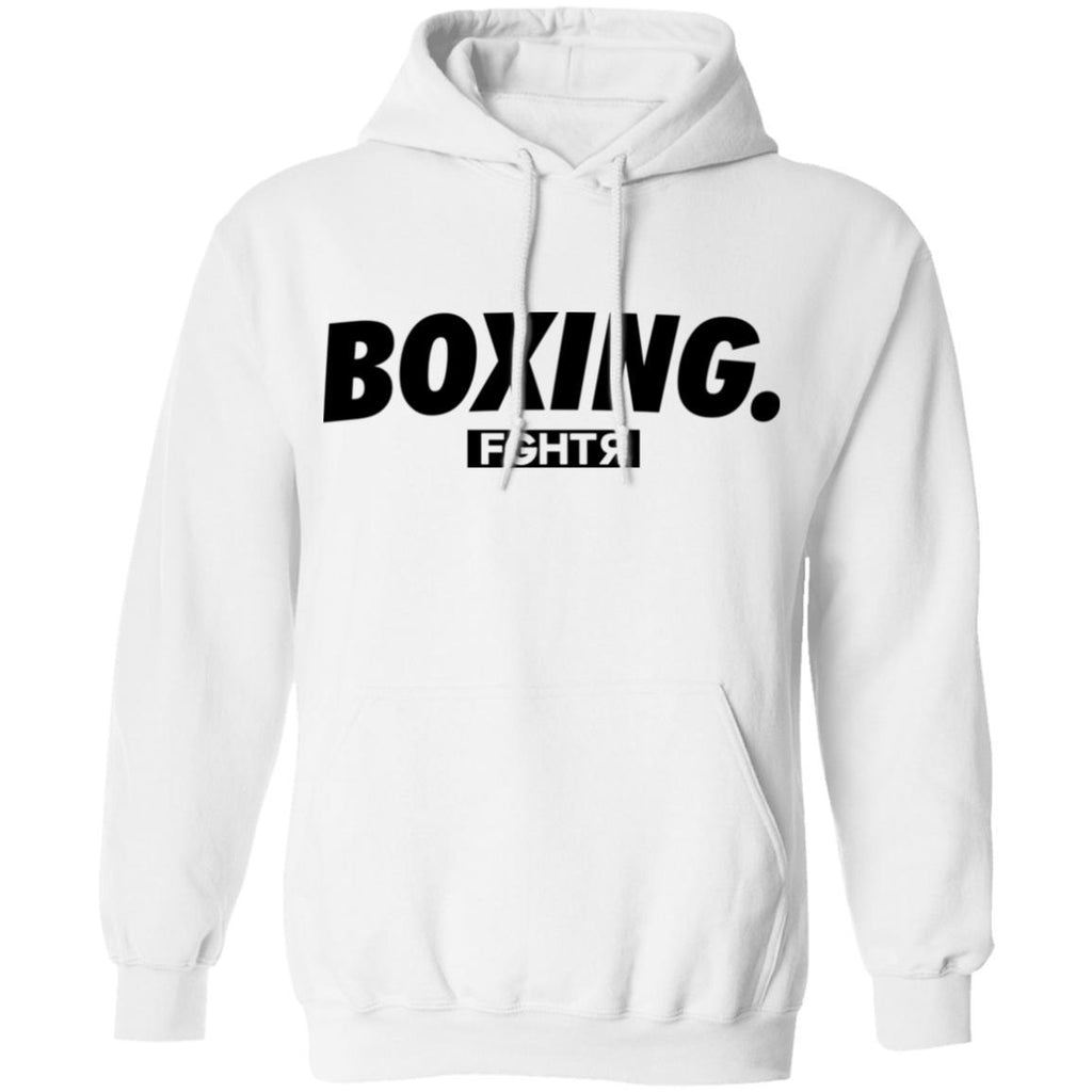Boxing Hoodie - White-FGHTR