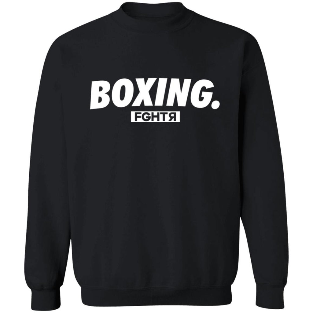 Boxing Sweater - Black-FGHTR