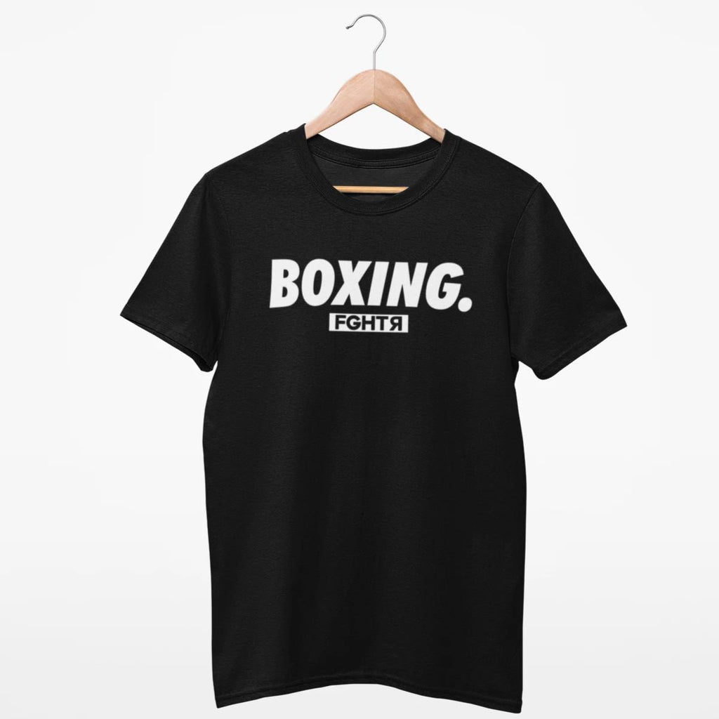 Boxing T-Shirt - Black-FGHTR
