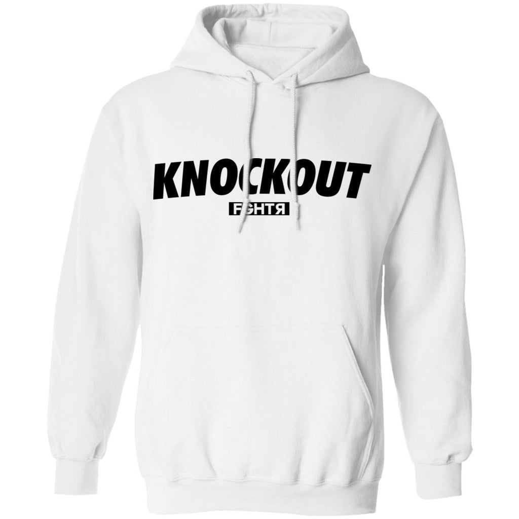 Knockout Hoodie - White-FGHTR