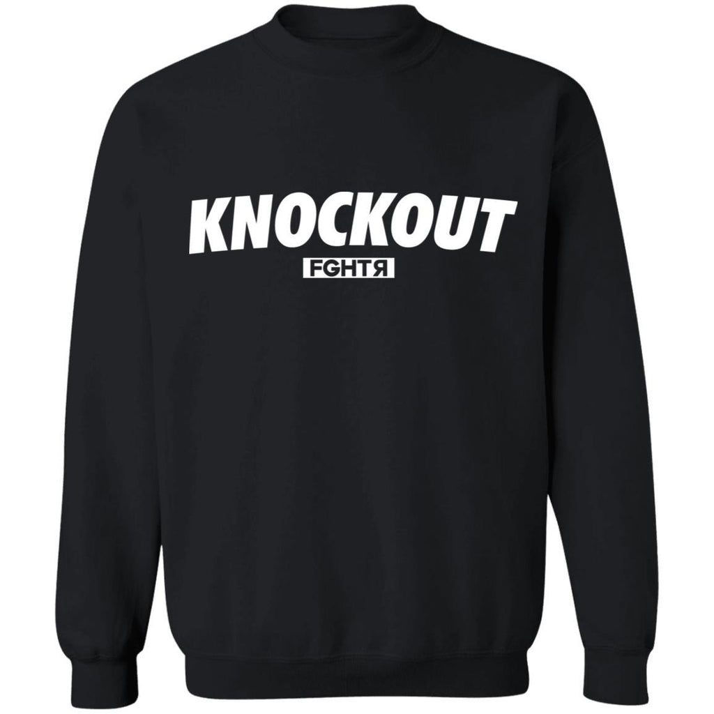 Knockout Sweater - Black-FGHTR