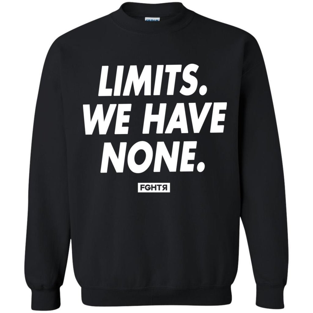 No Limits Sweater - Black-FGHTR