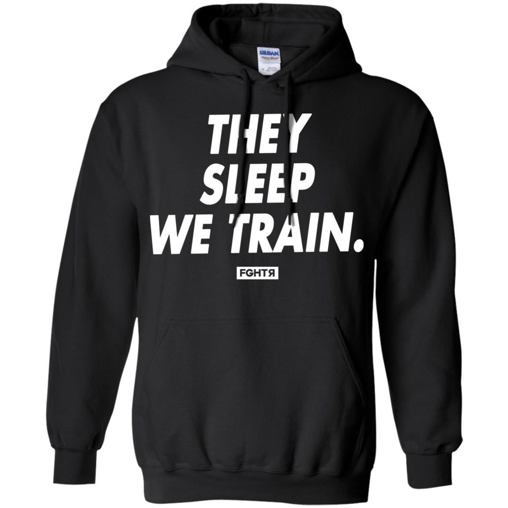 We Train Hoodie - Black-FGHTR