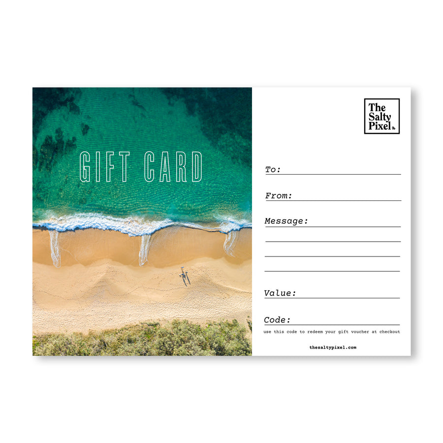 Gift Card - [product_tags] - The Salty Pixel