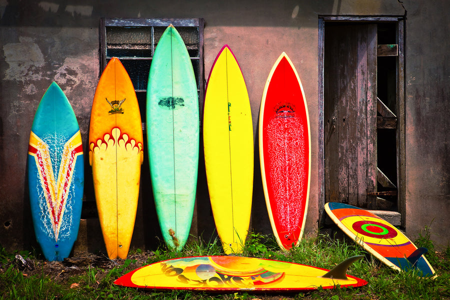 Vintage Surfboards - The Salty Pixel